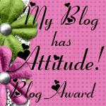 My Blog has Attitude award