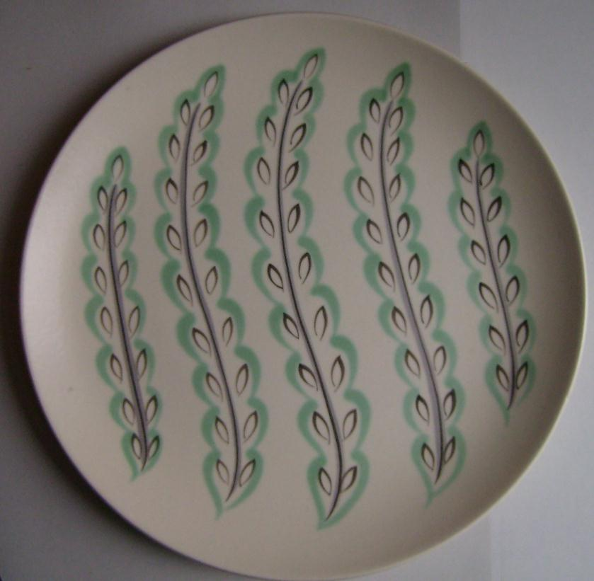 Contemporary Feather Drift Dinner Plate & Robu0027s Poole Pottery Blog: Contemporary Feather Drift Dinner Plate