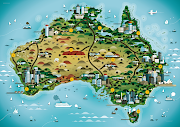 map of Australia. Added at 6:21 PM · Email ThisBlogThis!