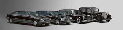 Mercedes-Benz S 600 Guard Pullman Limousine