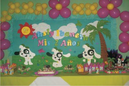 Decoracion de doki para cumpleaños - Imagui