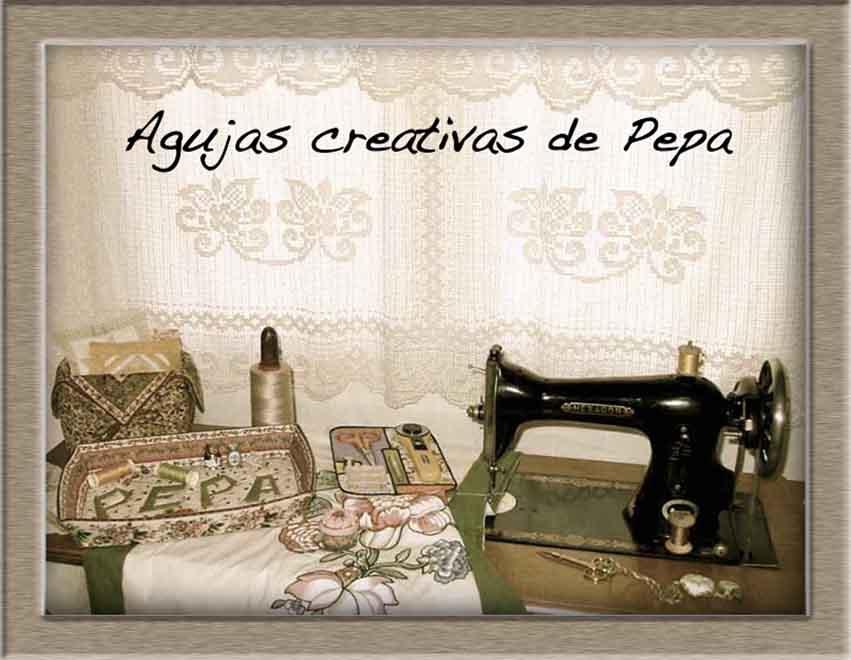 Agujas creativas de Pepa