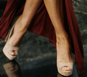 Megan Fox - Platform Heels