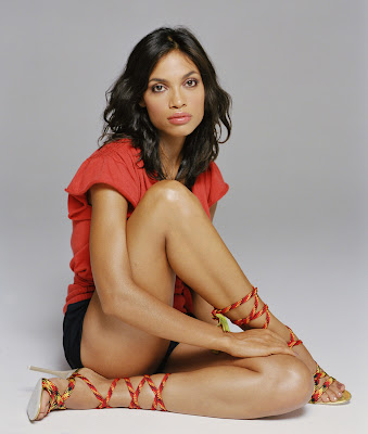 Rosario Dawson Lace Up Heaven