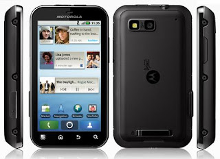 Motorola DEFY - latest Android smartphone with HSDPA