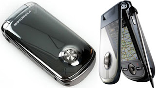 Motorola A1680 a high end folder type with touchscreen