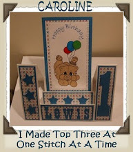 I MADE TOP 3 FOR 1st BIRTHDAY CARD