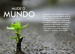A preservação ambiental é responsábilidade de todos!