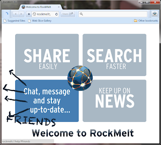 RockMelt Browser Review By Zennie62: A Facebook Gripe