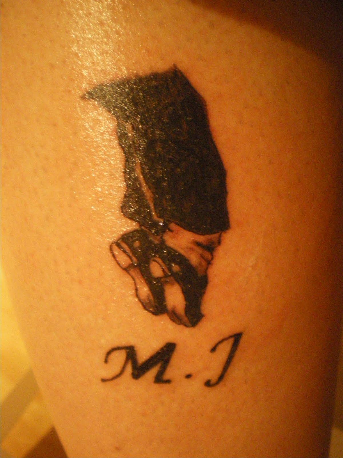TATTOO: Tattoo Michael Jackson