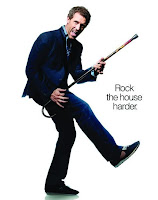 hugh laurie playing his cane in house md