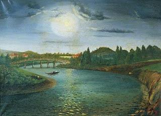 kagithane oil on canvas by karagheurian