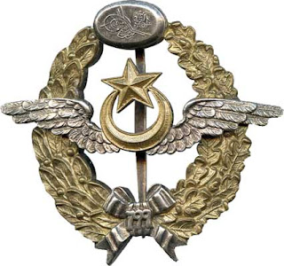 pilot badge in ottoman empire
