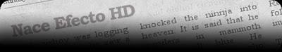 Efecto HD online