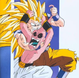 Goku come chopitos!