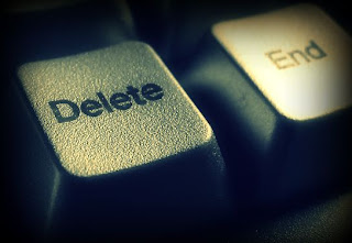 delete,lucy veras,pagina en blanco