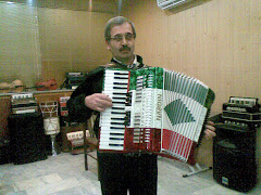 Mr.Abdolazimzadeh playing NARDIN accordion