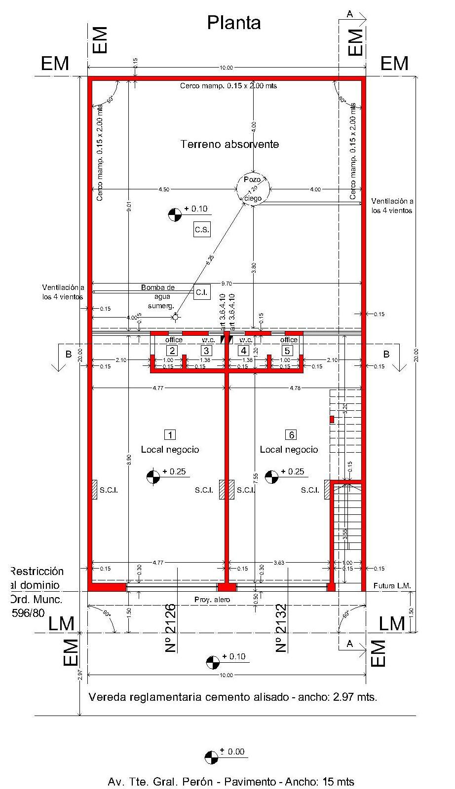 Arquitectura y dise o locales comerciales for Arquitectura planos y disenos