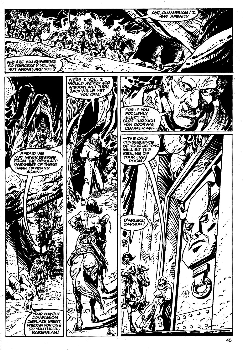 The Savage Sword Of Conan Issue #86 #87 - English 45