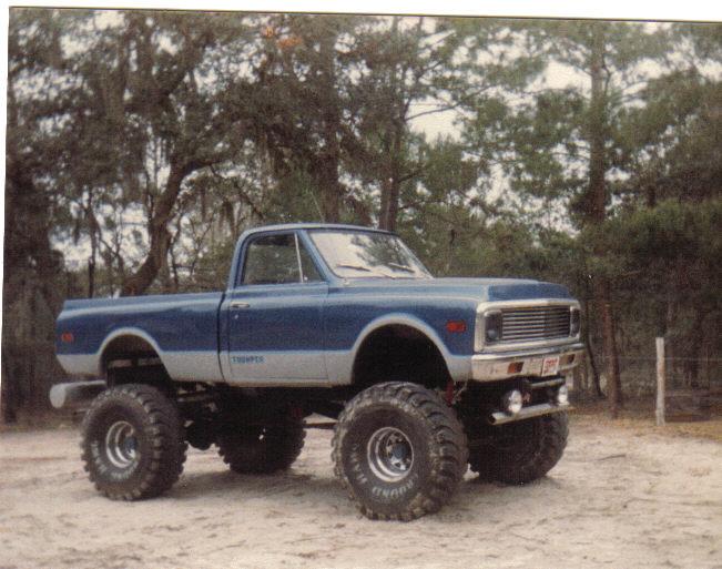 """1st truck I built """"THUMPER"""""""