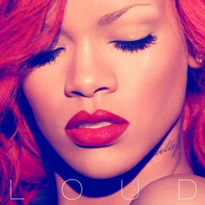 rihanna red hair 2010 only girl. Rihanna has unveiled the