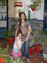 Con mi hermosa hija...