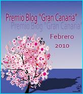 PREMIO BLOGS GRAN CANARIA FEBRERO 2010