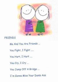 Short poem on my friend