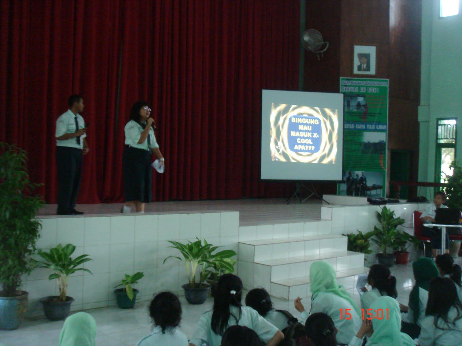 Promosi Ekstrakurikuler SMA Plus Negeri 17 Palembang 2010