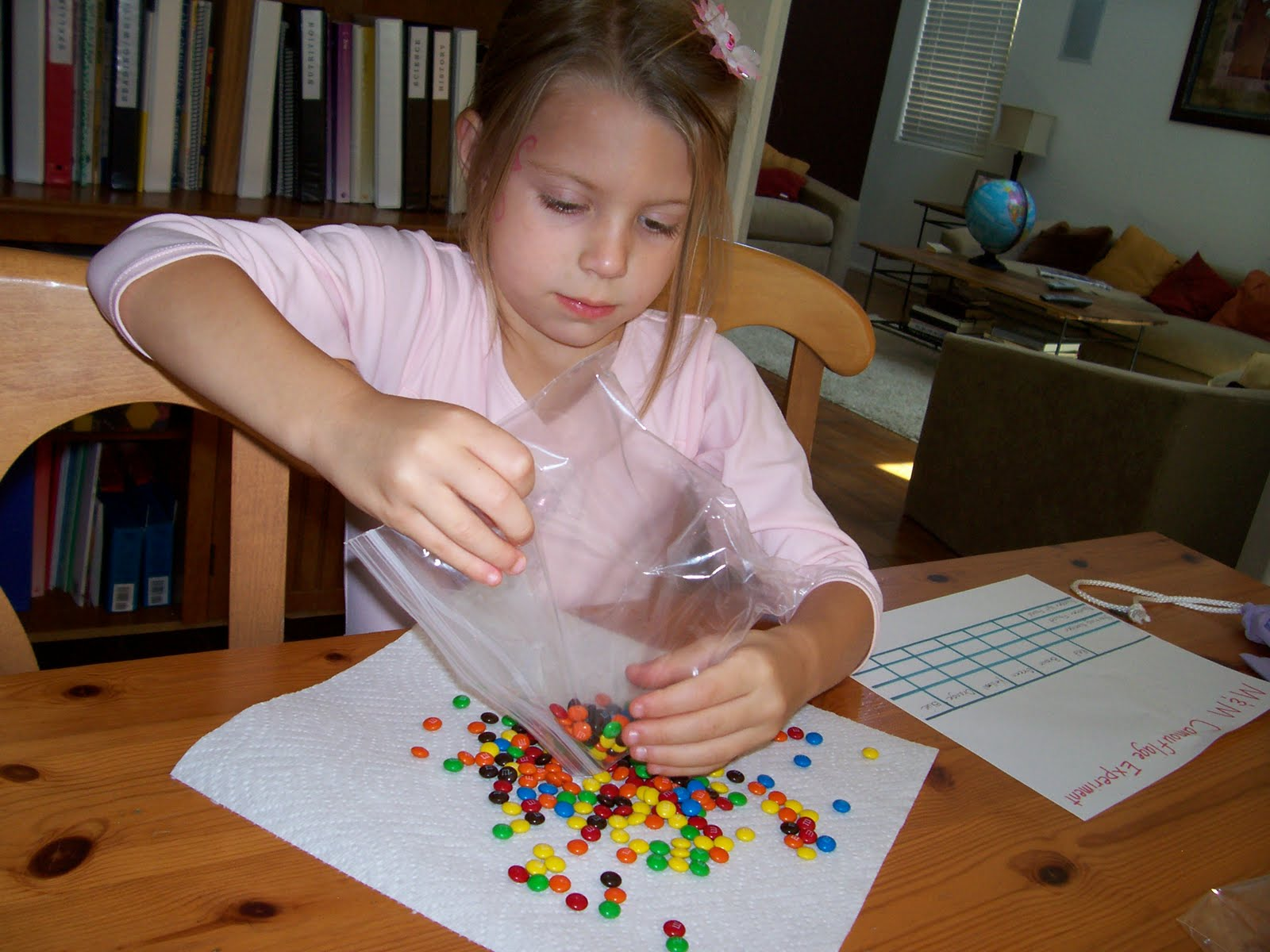 Natural Selection Experiment With M Ms