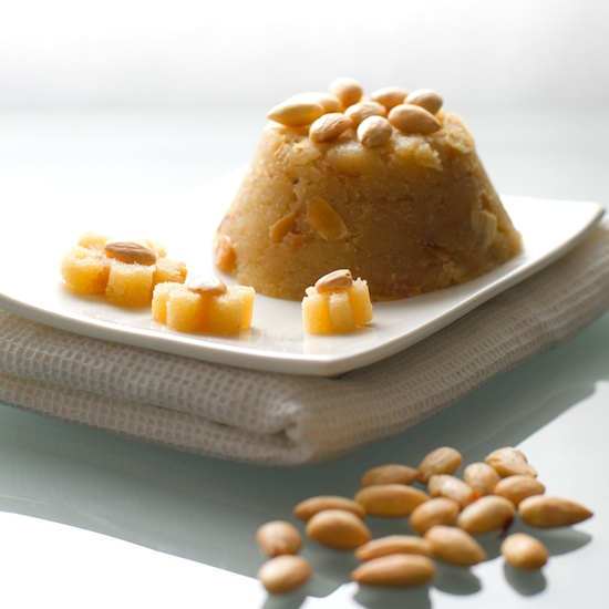Greek semolina halva