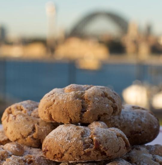 Pecan nut cookies