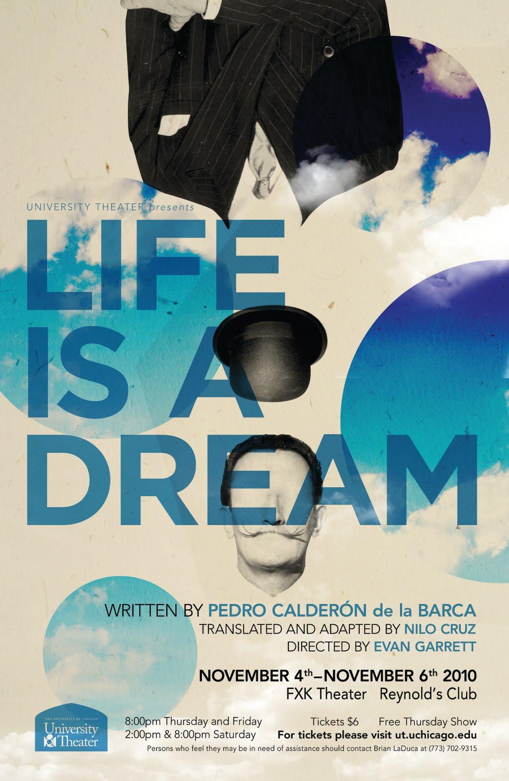calderon life dream essay Home essays life is a dream analysis life is a dream analysis calderon de la barca lived during a period of essay on life and dream.