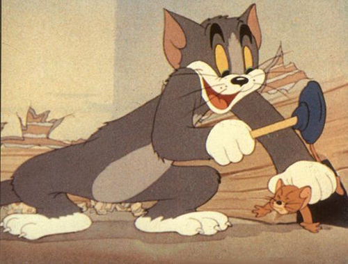 Tom ve Jerry Yakalamaca Oyunu