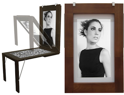Good ... Into A Picture Frame On The Wall, Which Was So Natural That Serves Also  As A Table. To Go Into Details Of This Product, Visit The Website Ivy Design Pictures Gallery