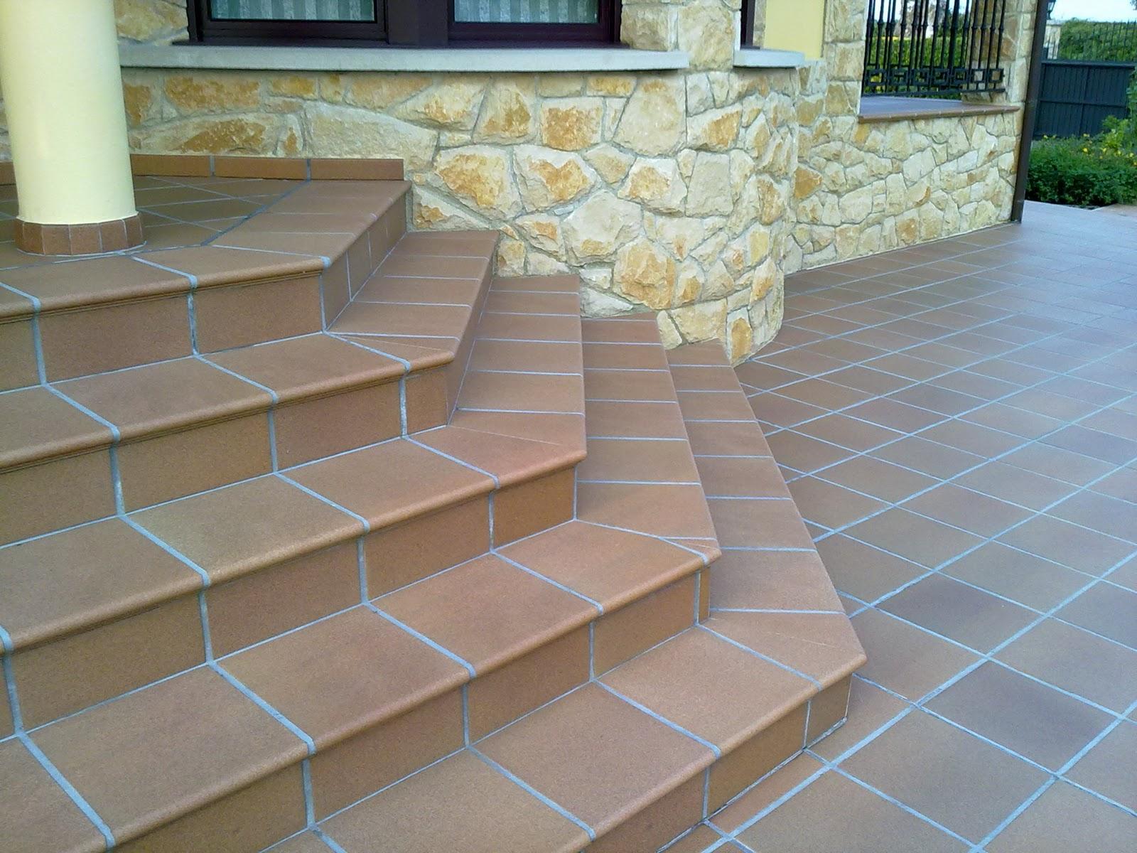 Alicatados y solados ultimos trabajos - Gres para escaleras ...