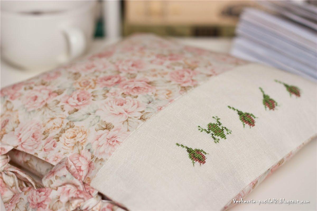 Наволочка с вышивкой на подушку на молнии