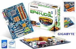 PLACA MÃE GYGABYTE EP41-UDL3 SUPORTA 8GB MB DDR2.