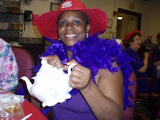 Tea And A Little Red Hat Fun!