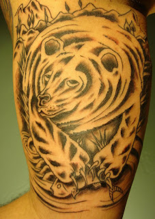 Grizzly Bear Tattoo