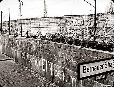 Cortina de ferro e muro de berlim