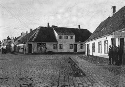 Trianglen ca. 1920 - klik for større billede