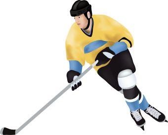 Hockey Clip Art 081610» Vector Clip Art - Free Clip Art Images