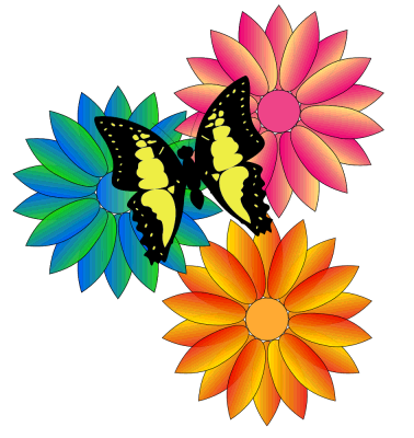 animated butterfly clipart. thank you clip art free