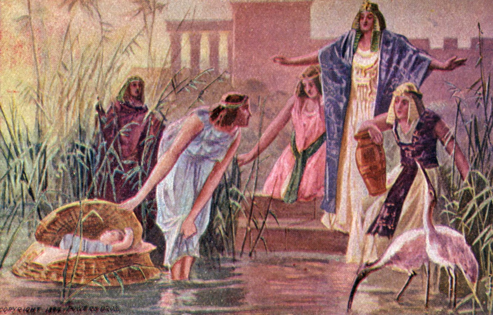 Moses story with pictures