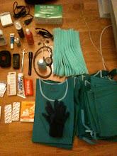 préparation des bagages