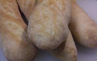 Poolish Baguettes