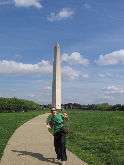 More Jazz Hands ... This Time At Washington Monument