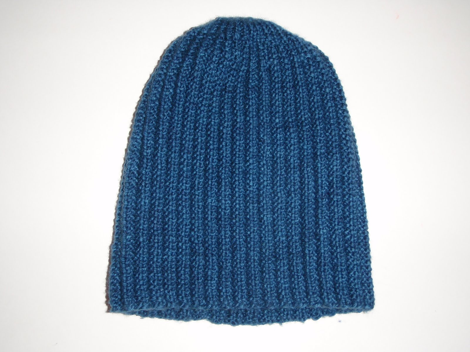 If the knit fits...: FO Friday- Mistake rib hat