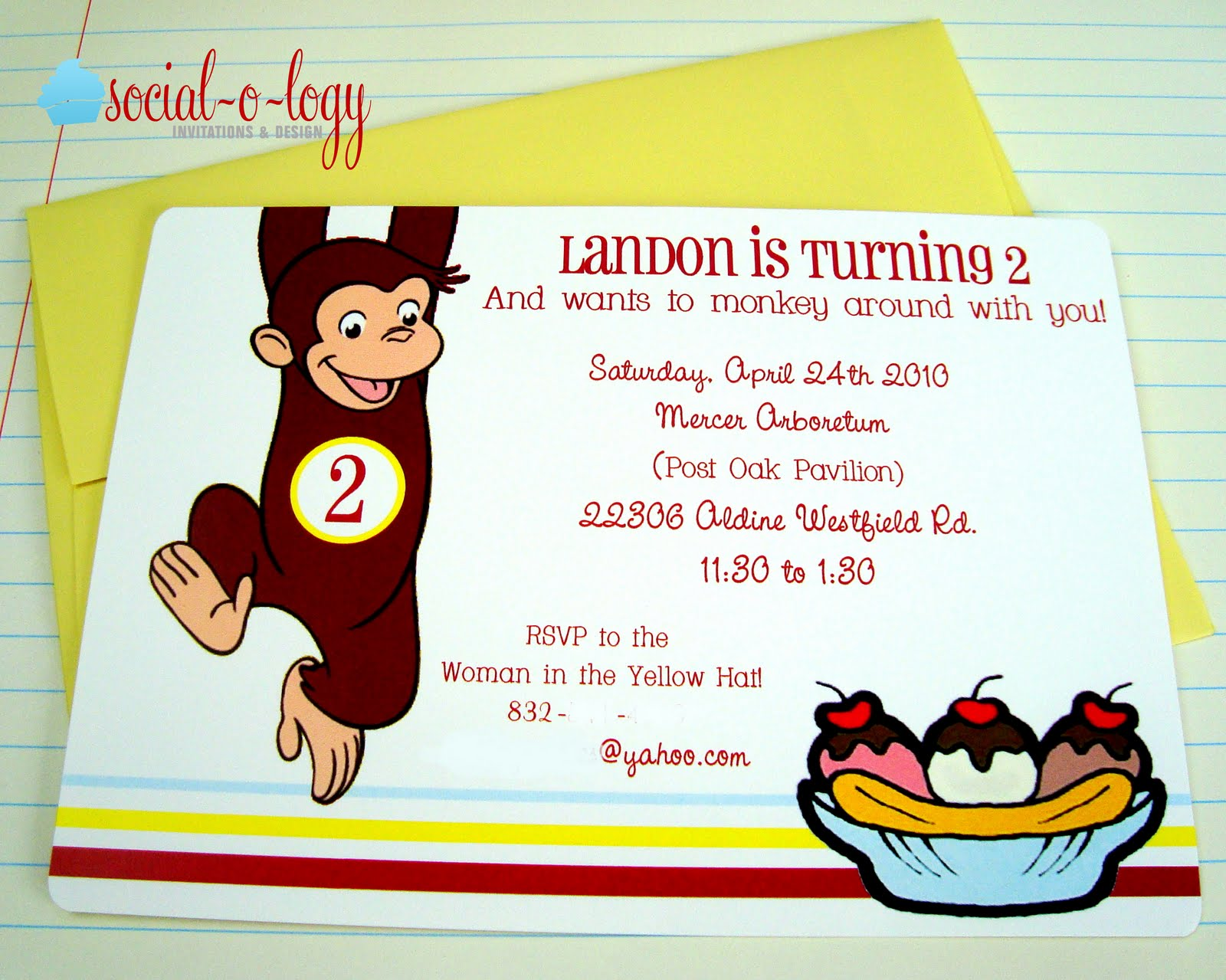 Social o logy Invitations and Design Landon is 2